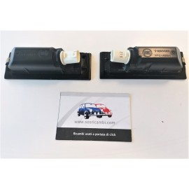 51883585 COPPIA FANALI LUCE TARGA FIAT 500L 2012 -...