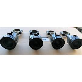 1609067980 4 X PISTONI MOTORE CITROEN/FORD 2.0HDI AH01 DW10FD 110KW