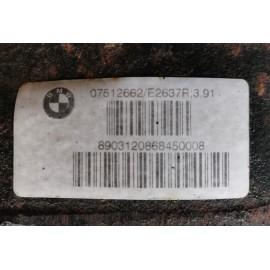 7512662 DIFFERENZIALE POSTERIORE BMW X5 E53 306D2 RAP 3:91