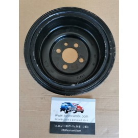 04L105243 PULEGGIA ALBERO MOTORE VW GOLF VII 1.6TDI DDYB