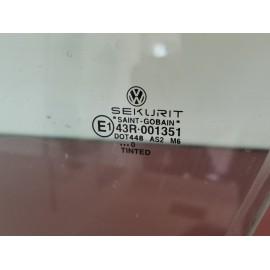 1J4845201G VETRO SCENDENTE ANTERIORE SINISTRO VERDE VW GOLF 4
