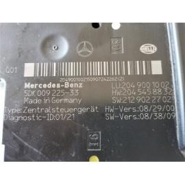 A2049001002 CENTRALINA SAM POSTERIORE MERCEDES CLASSE C W204
