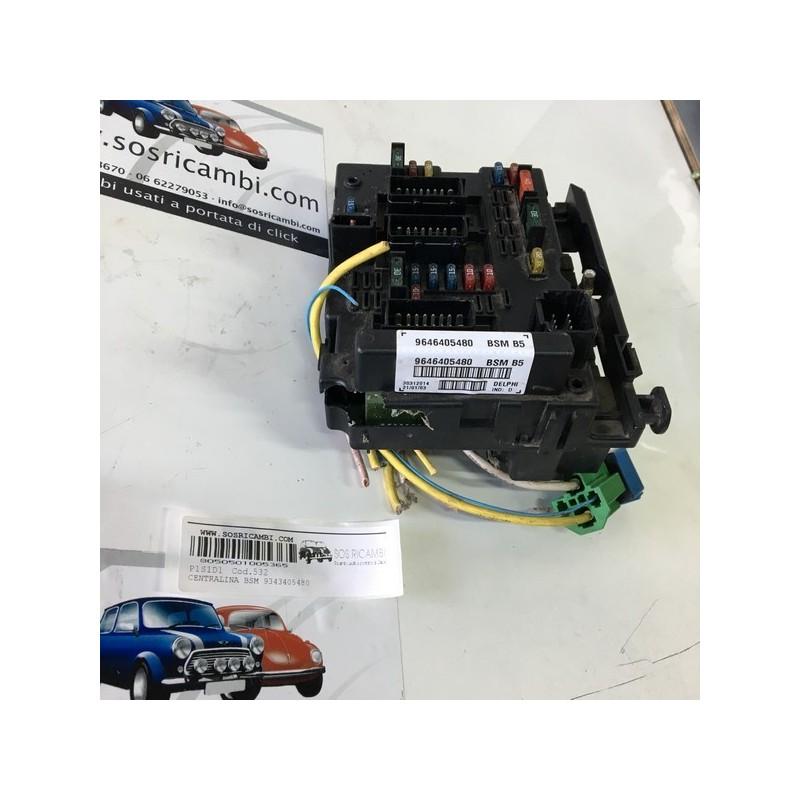CENTRALINA BSM 9646405180