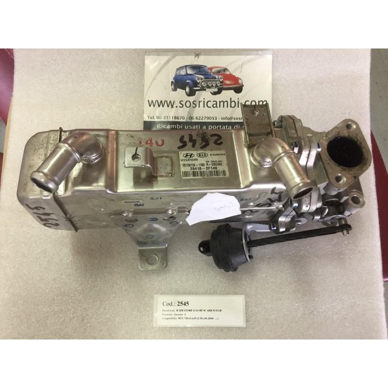 RADIATORE GAS DI SCARICO EGR   284162F140
