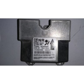 13203263 327963935 CENTRALINA AIRBAG SRS OPEL ASTRA H 2004 -...