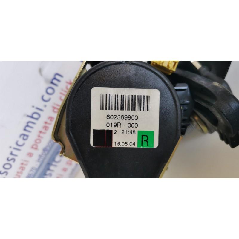 602369800 CINTURA DI SICUREZZA POSTERIORE DESTRA MERCEDES W169
