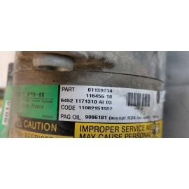 64521171310 COMPRESSORE A/C MINI COOPER 1.6 R50 01139014