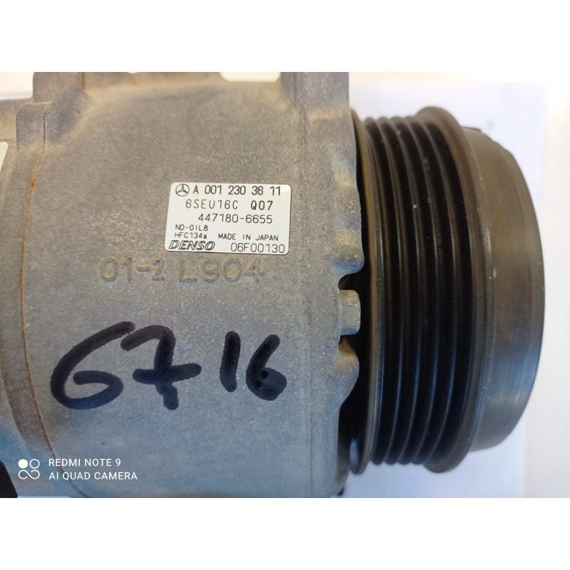 A0012303611 COMPRESSORE ARIA CONDIZIONATA MERCEDES CLASSE A W169