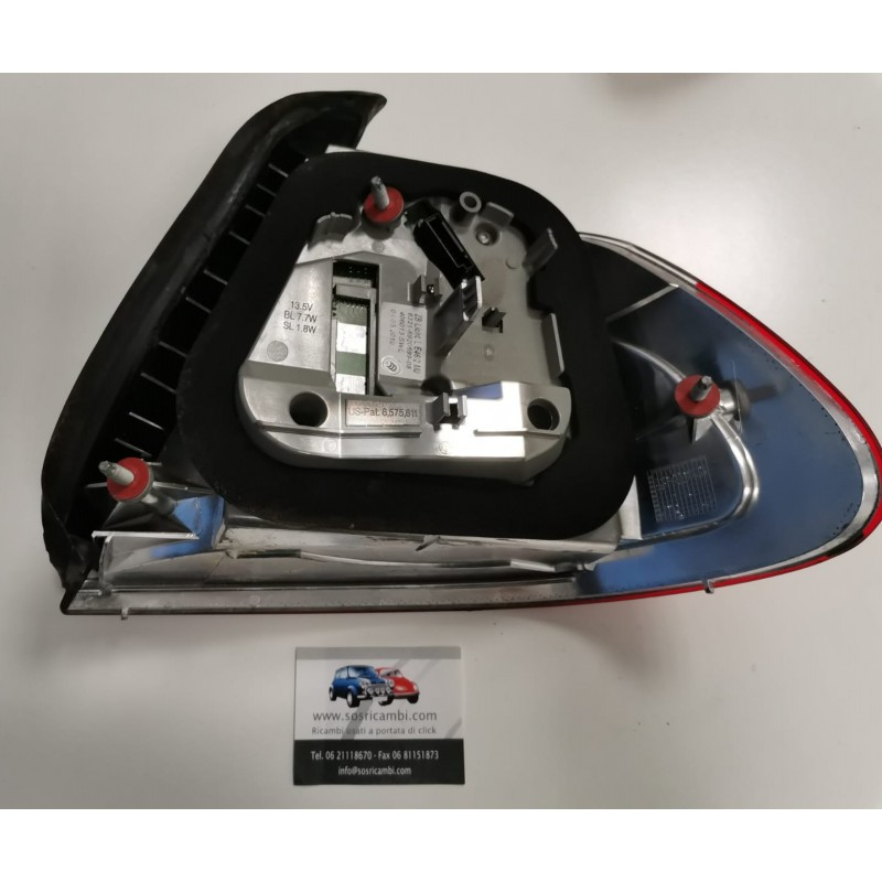 6920699 FANALE POSTERIORE SINISTRO A LED BMW SERIE 3 COUPE' E46